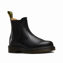Dr Martens 2976 Smooth - Women's Black Chelsea Boots (TKVANF15)