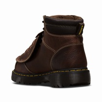 Dr Martens Ironbridge Met Guard - Men's Dark Brown Work Boots (ODRIFQ46)