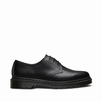 Dr Martens Mono 1461 - Women's Black 3 Eye Shoes (MVJCRG94)